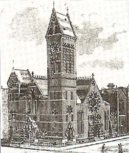Samuel Davies Alexander pastored the Phillips Presbyterian Church (originally known as the 15th Street  Church) in New York City from 1856 to 1889, when he became their pastor emeritus.