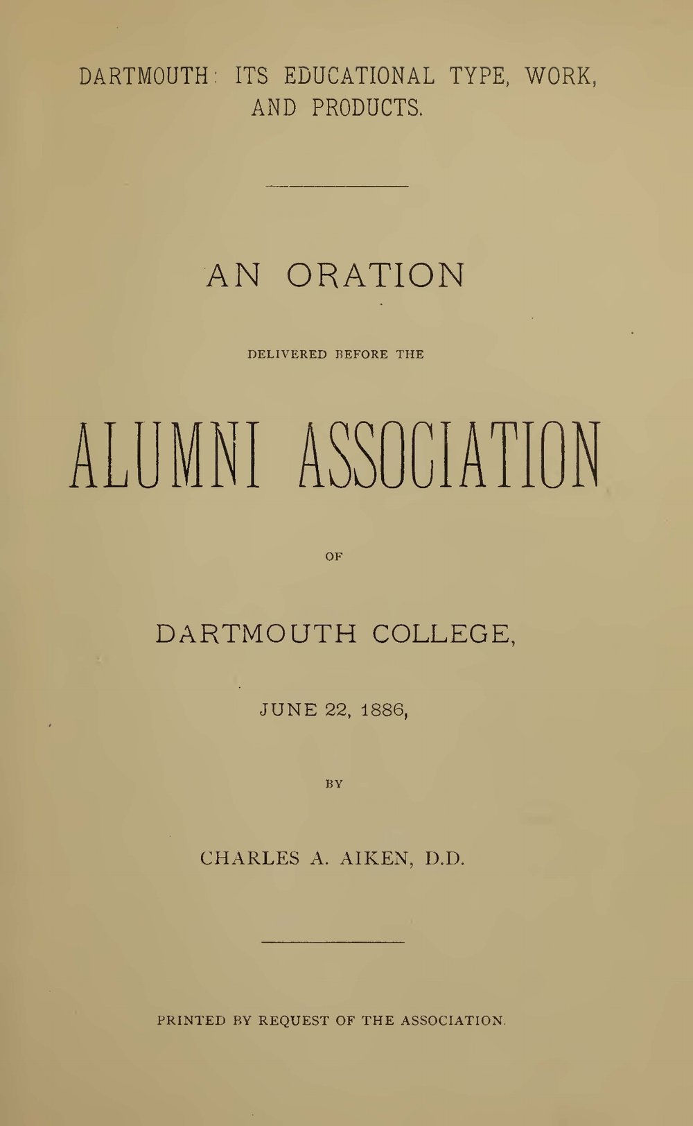 Aiken, Charles Augustus, Dartmouth Title Page.jpg