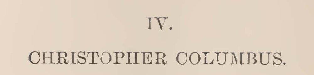 Warfield, Ethelbert Dudley, Christopher Columbus Title Page.jpg