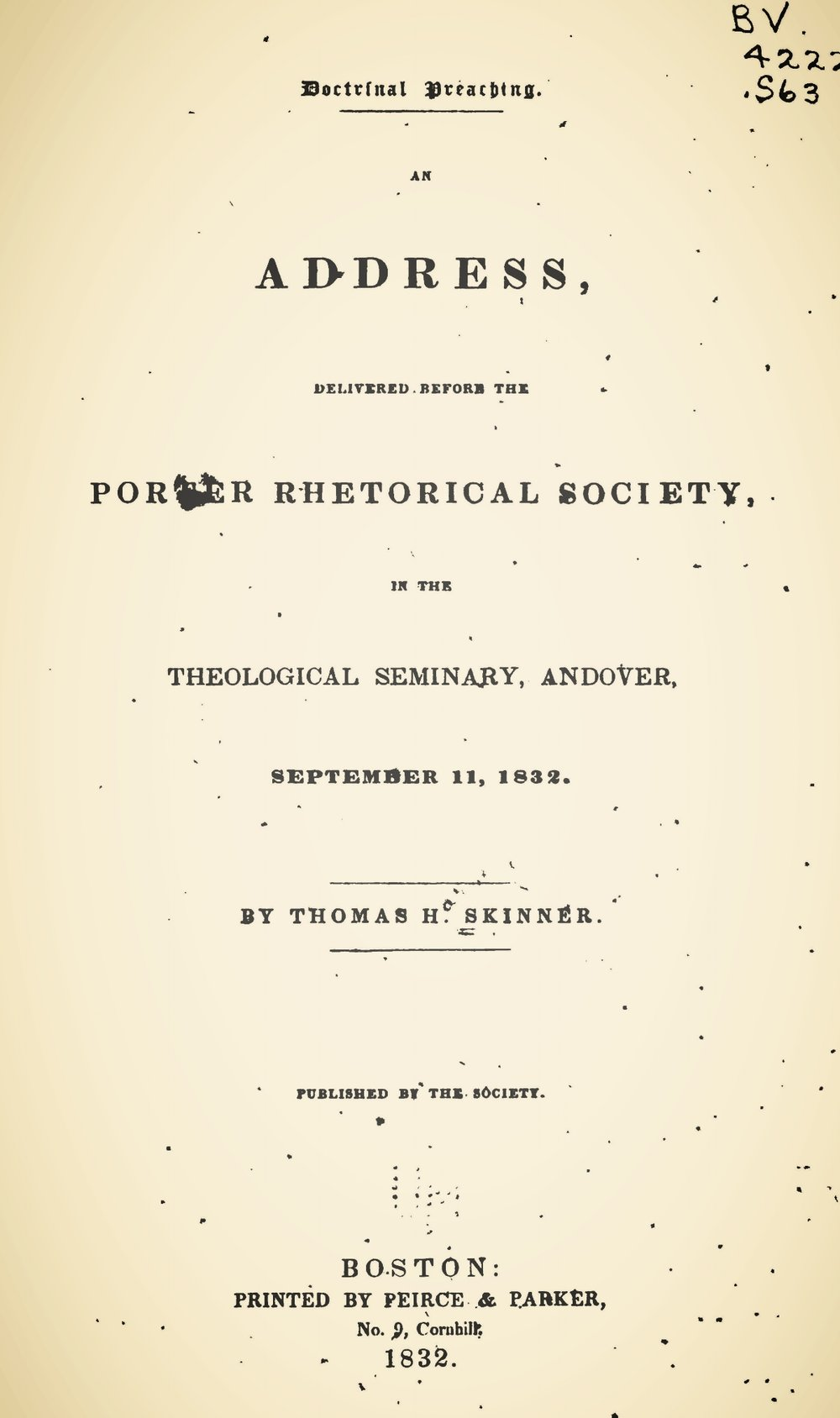 Skinner, Thomas Harvey, Doctrinal Preaching Title Page.jpg