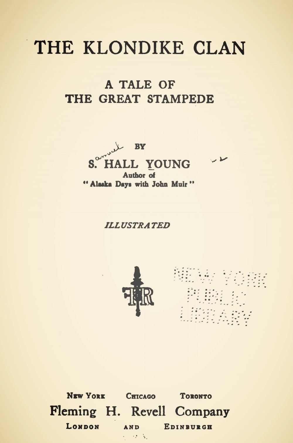 Young, Samuel Hall, The Klondike Clan Title Page.jpg
