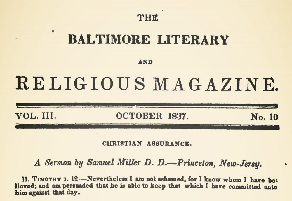 Miller, Samuel, Christian Assurance Title Page.jpg