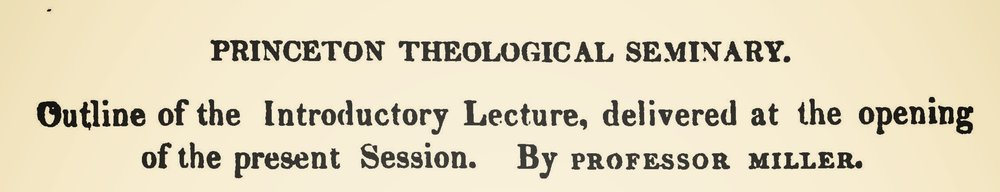 Miller, Samuel, Outline of the Introductory Lecture Title Page.jpg