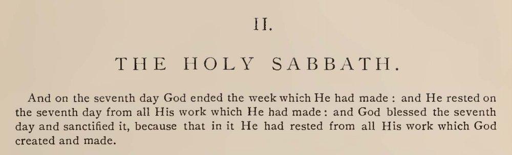 McIlvaine, Joshua Hall, The Holy Sabbath Title Page.jpg