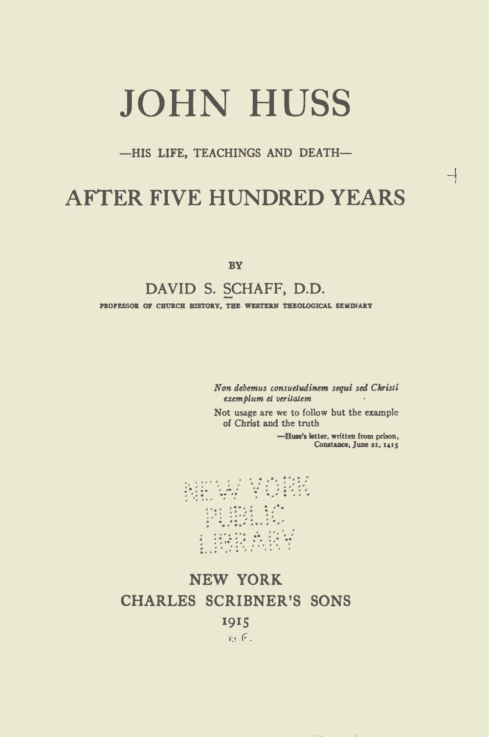 Schaff%2C+David+Schley%2C+John+Huss+Title+Page+2.jpg