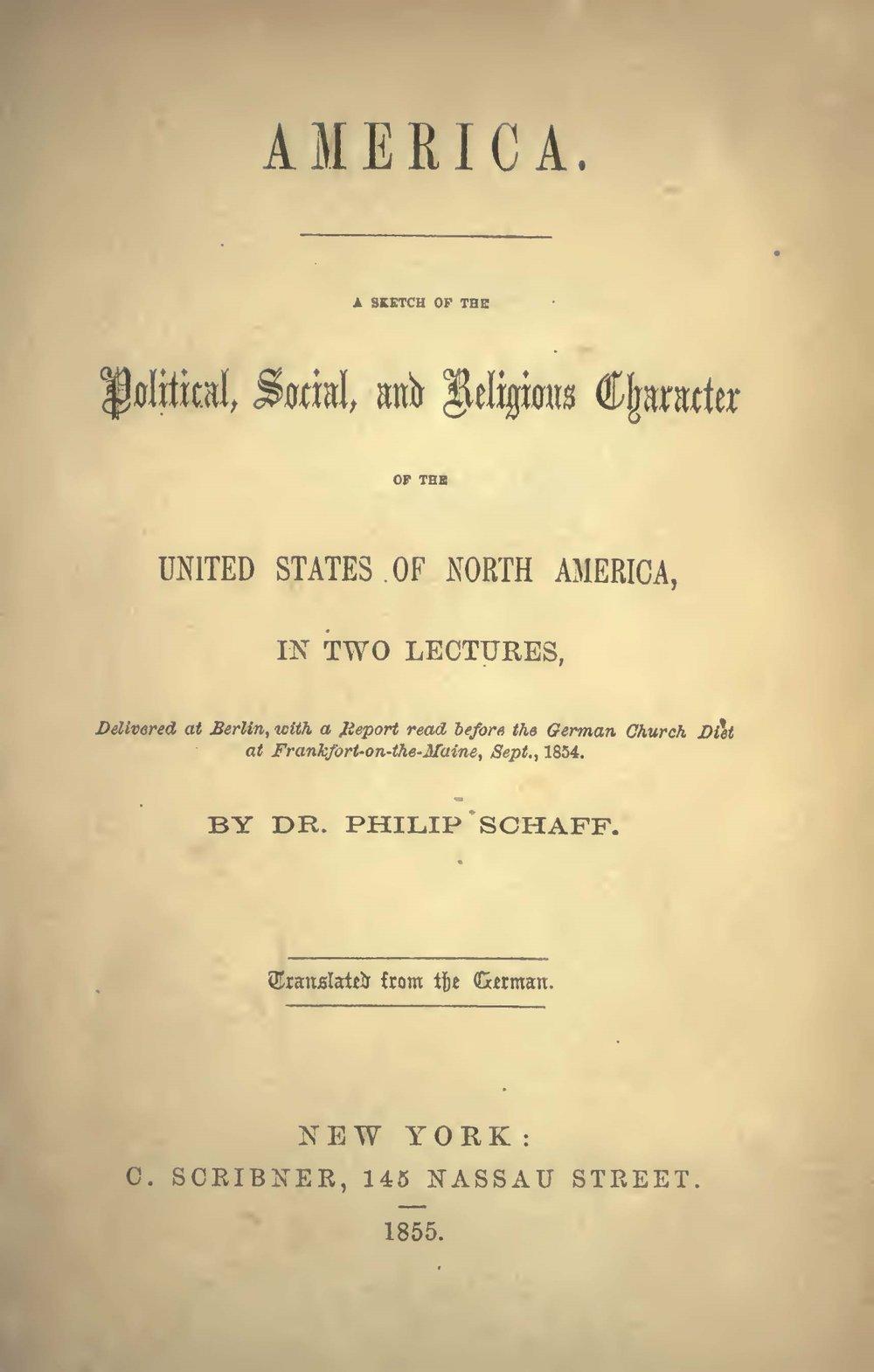 Schaff, Philip, America Title Page.jpg