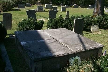 David Stewart Caldwell, Sr. is buried at Buffalo Presbyterian Church Cemetery, Greensboro, North Carolina.