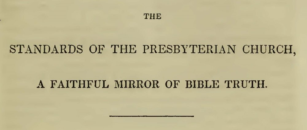Baker, Daniel, The Standards of the Presbyterian Church Title Page.jpg