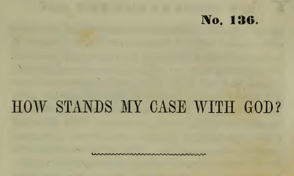 Plumer, William Swan, How Stands My Case With God Title Page.jpg