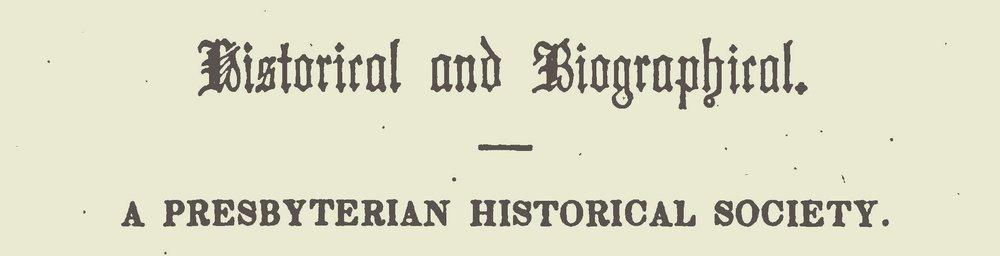 Van Rensselaer, Cortlandt, A Presbyterian Historical Society Title Page.jpg