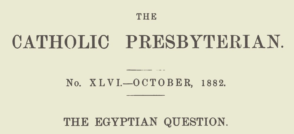Lansing, Gulian, The Egyptian Question Title Page.jpg