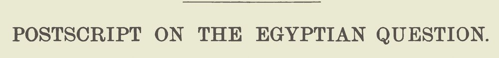 Lansing, Gulian, Postscript on the Egyptian Question Title Page.jpg