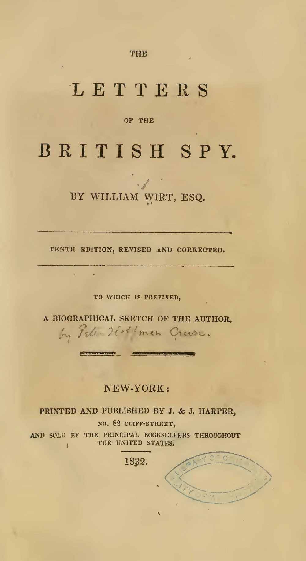 Wirt, William, The Letters of the British Spy Title Page.jpg