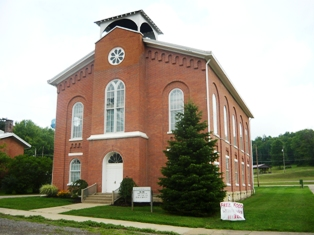 John Edmiston Alexander served as pastor of the Old Washington Presbyterian Church in Old Washington, Ohio from 1842-1853. He is buried at Union Cemetery, Steubenville, Ohio.