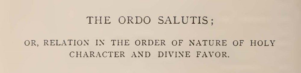 Hodge, A.A., The Ordo Salutis Title Page.jpg