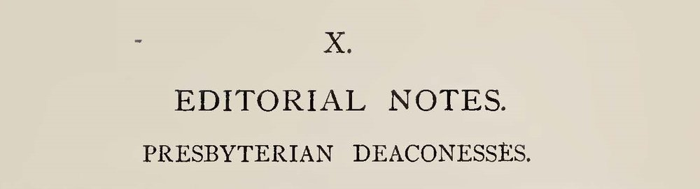 Warfield, Benjamin Breckinridge, Presbyterian Deaconesses Title Page.jpg