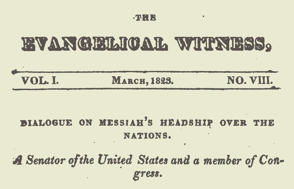 Willson, James Renwick, Dialogue on Messiah's Headship Title Page.jpg