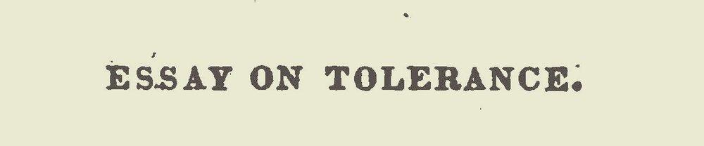 Willson, James Renwick, Essay on Tolerance Title Page.jpg