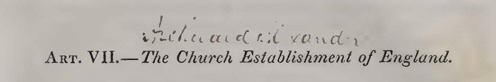 Alexander, Archibald, The Church Establishment of England Title Page.jpg