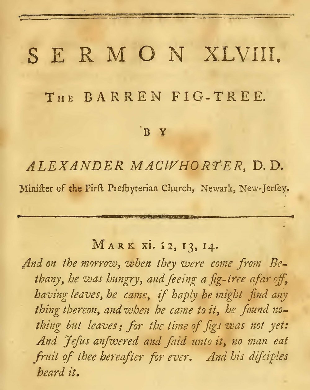 MacWhorter, Alexander, The Barren Fig Tree Title Page.jpg