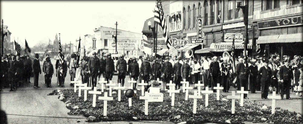 Memorial day in mattoon circa 1930's