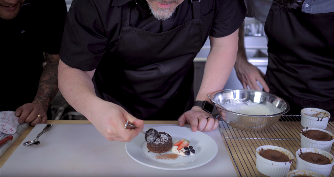 Chocolate Lava Cakes inspired by Chef with Jon Favreau and