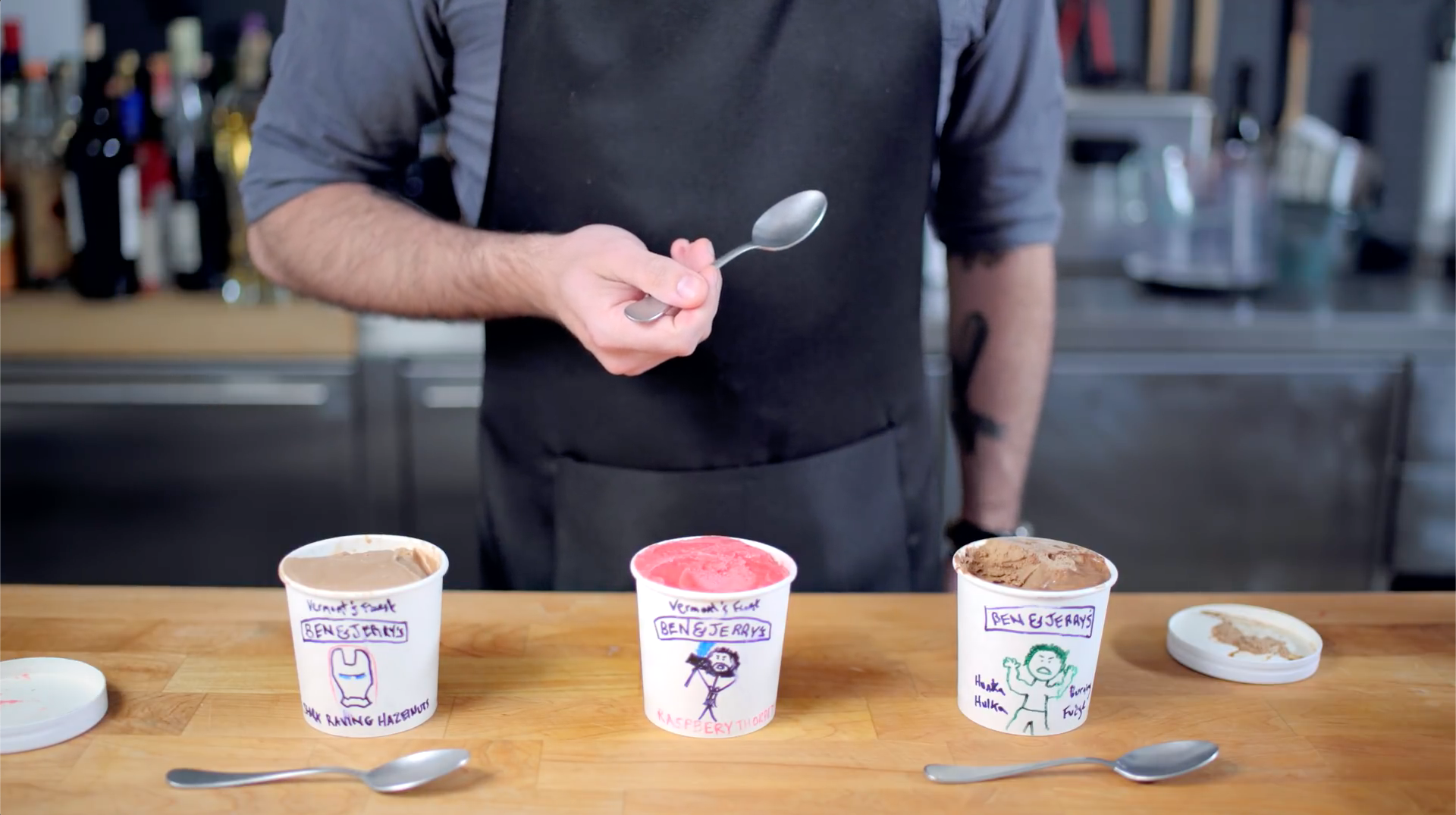 Ice Cream Flavors inspired by Avengers: Infinity War