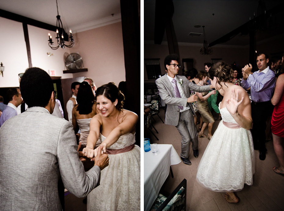 bride-dancing-montreal-photographer-wedding-moments-au-vieux-moulin-rigaud-reception