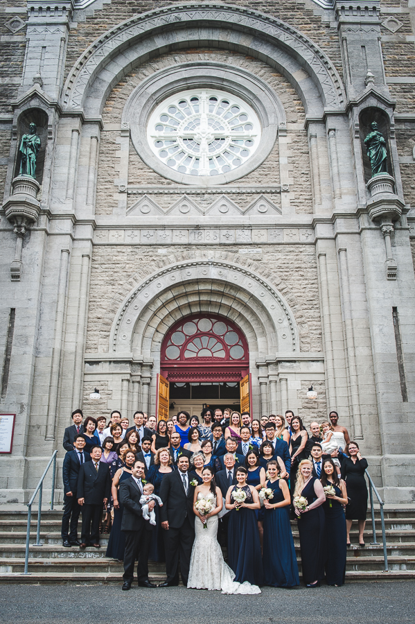 group-photo-front-ste-anne-basilica-varennes