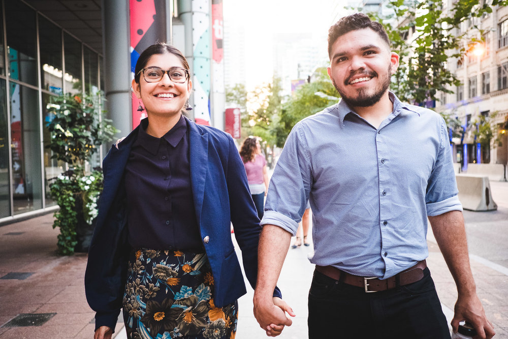 divya-and-romulo-walking-in-the-street