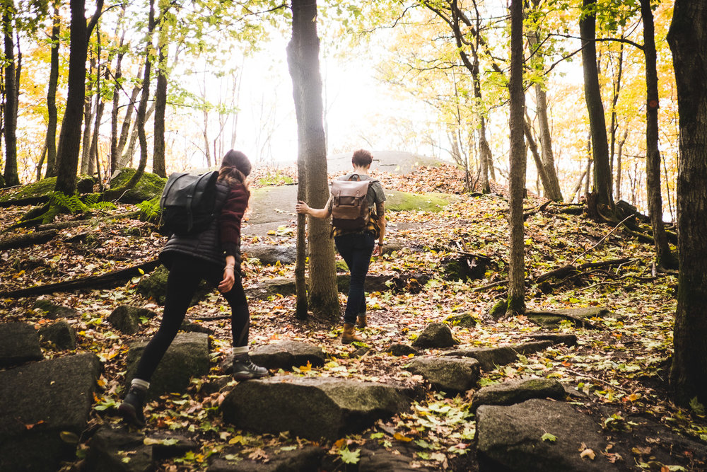 hiking-up-burned-hill-fall-outdoors