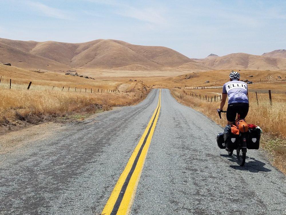 The golden hills of California