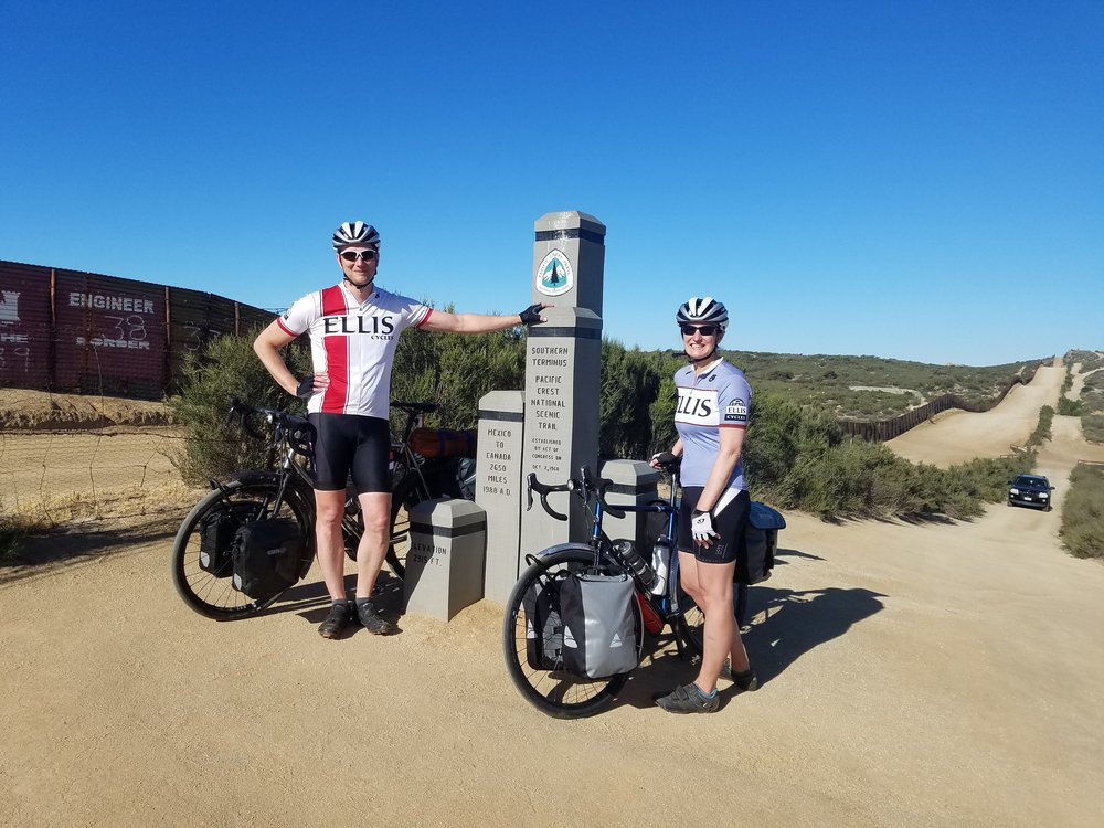 The start of our odyssey, Campo, CA