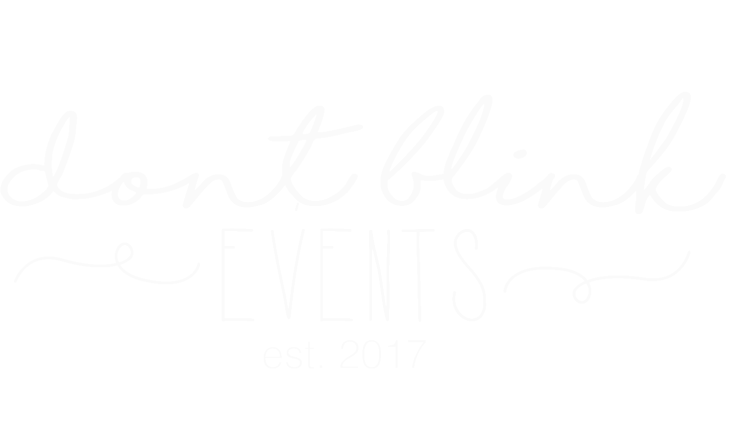 Don't Blink Events