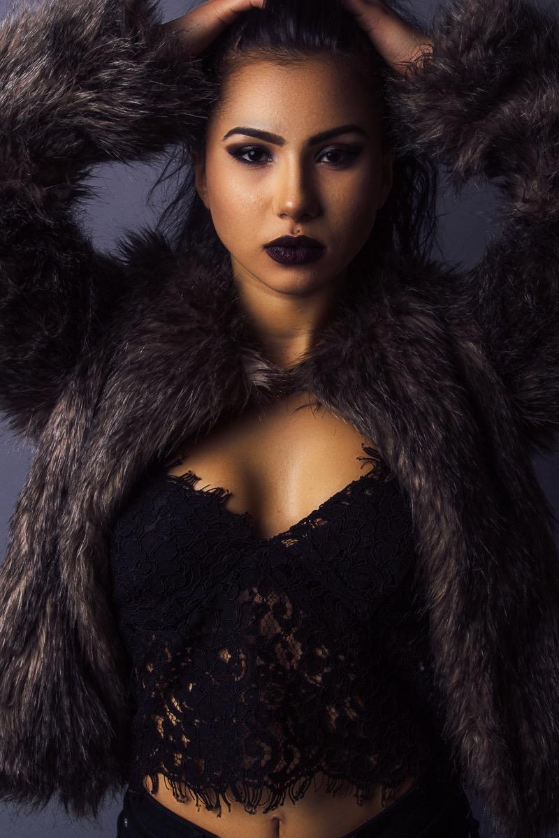 Model: Sabina R. Shukurova  Photographer: Jaleel Muss