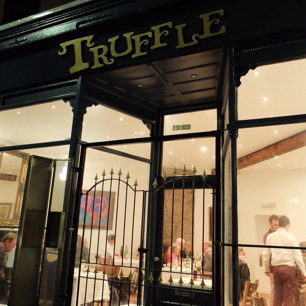 Welcome! Truffle is a quirky restaurant with a relaxed and friendly atmosphere where you can enjoy delicious food, always freshly made on site, using locally sourced ingredients ...and at a reasonable price. -