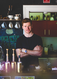 connor doyle - One half of the mechanic barista brothers behind eclectic city coffee barhoi polloi 'I can never be doing nothing – I'm always doing something…'BEGINNINGS: I just liked coffee and it was too good a space not to do anything with it. The art gallery here has local artists so we got a mural done; it's something different, and it's good for Townsville... READ MORE