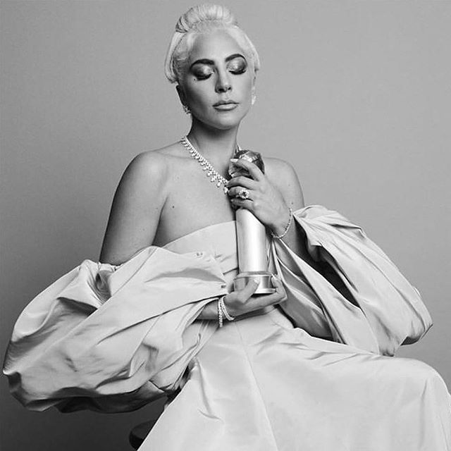 All hail Gaga.  So much talent! #goldenglobes2019 #stylesandsubstance