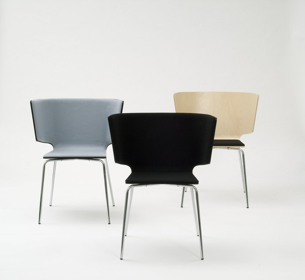 THEATRON SERIES FOR VIVERO / Theatron is a chair for differend kind of situations like casual meetings and environments like lounges and conference rooms. Comfortable chairs offer homely feeling.