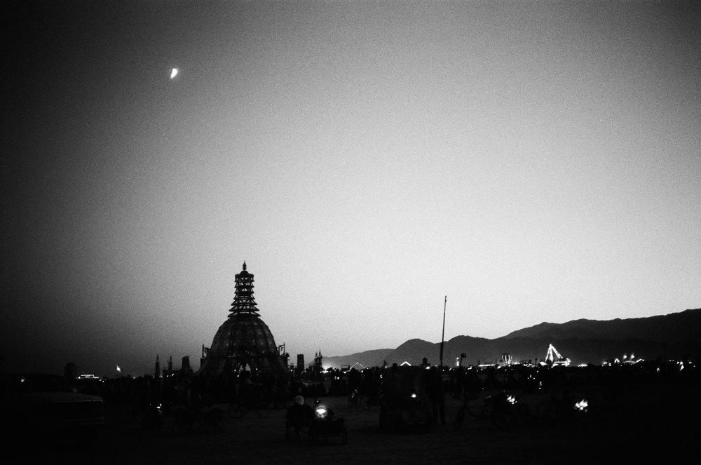 The Temple, Burning Man, 2014