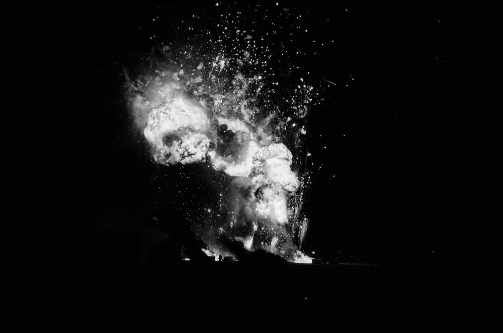 The Man Explodes, 2014