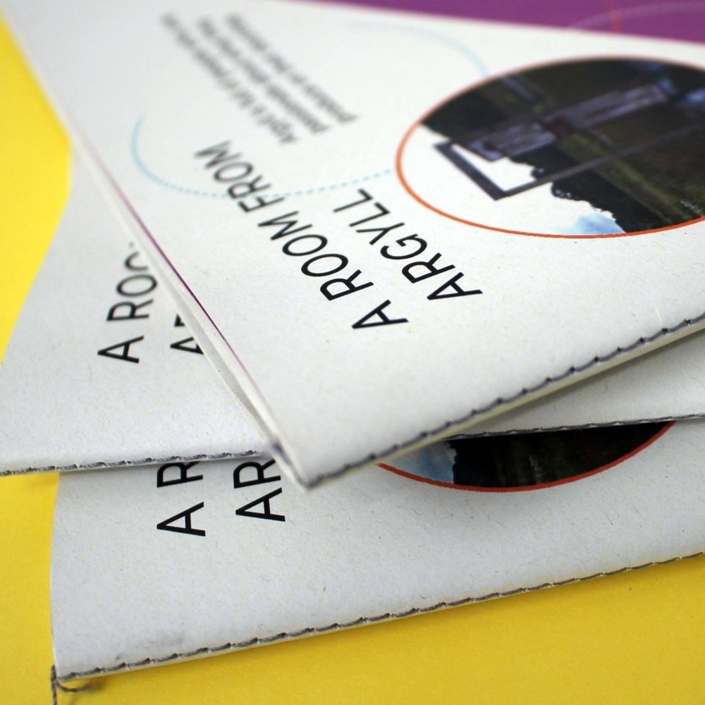 SINGER SEWN - This type of book is sewn on an industrial sewing machine, leaving little visible stitches on the page which can be in a choice of colours. Books sewn like this can have a paper cover which will leave the stitiches visible outside, or a hard cover can be made which hides the sewing. + Pages will lay flat+ Visible sewing+ No size limit- Limited book thickness- Limited page width due to machine capacityMinimum page count – 4Maximum page count – varies depending on the type and thickness of paper – the higher the weight, the fewer pages and vice versa.Print set-up – as one section/booklet