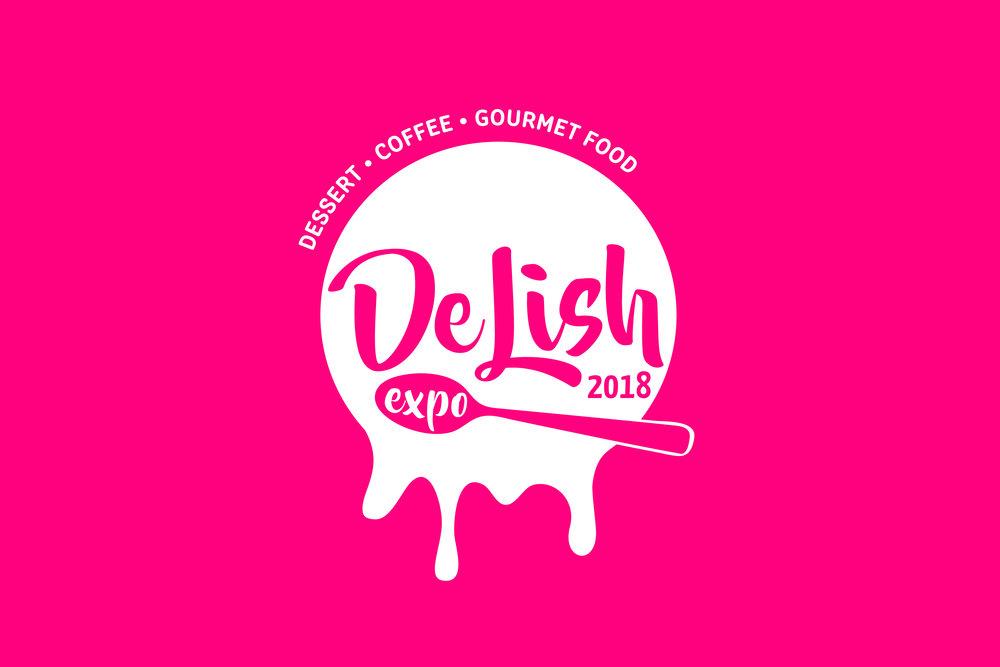 De Lish Expo 2018 event branding