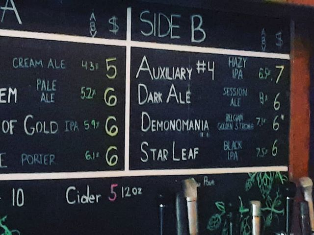 Look what's on tap at @decibelbrewing  #ipa #indiapaleale #starleaf #decibelbrewing #microbeer #hopheads