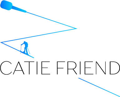 Catie Friend - Presenter - Ski mountaineering expert – Writer - Sports Commentator