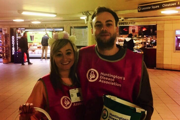 Volunteers from Venatus at Leicester Square