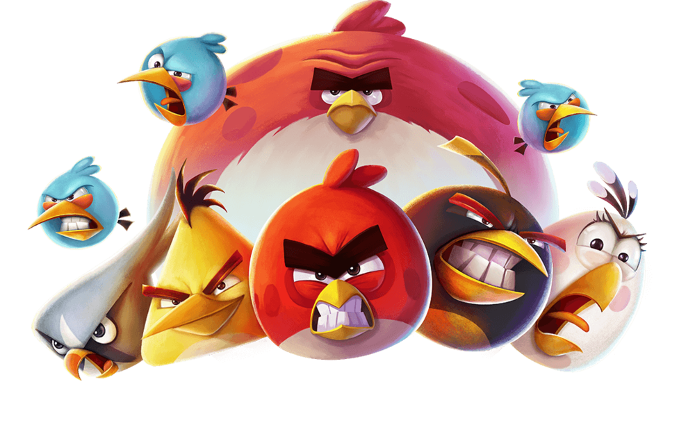 The Angry Birds characters (C) Rovio.