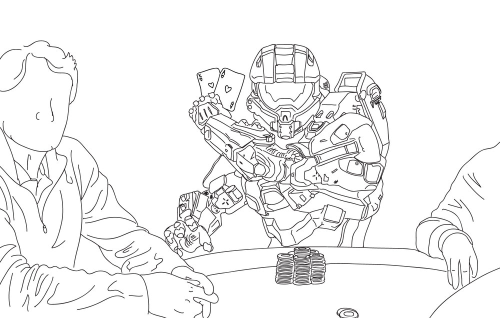 Luck be a... Master Chief? (C) Venatus