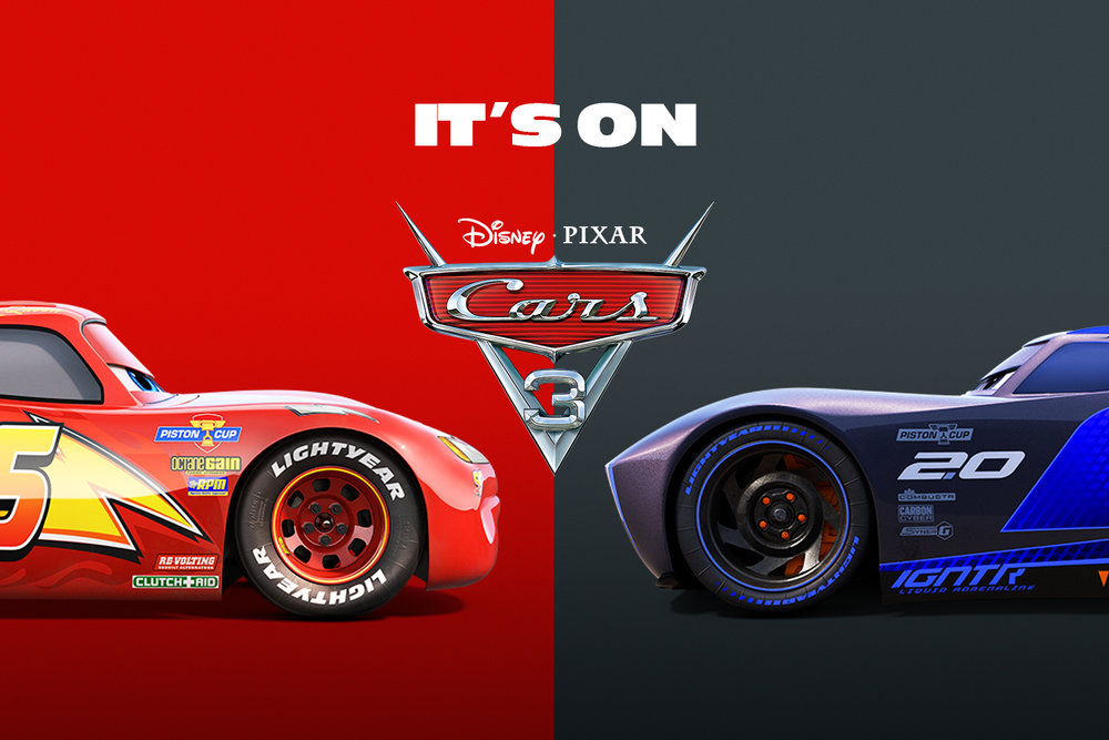Cars 3 promotional image (C) Disney