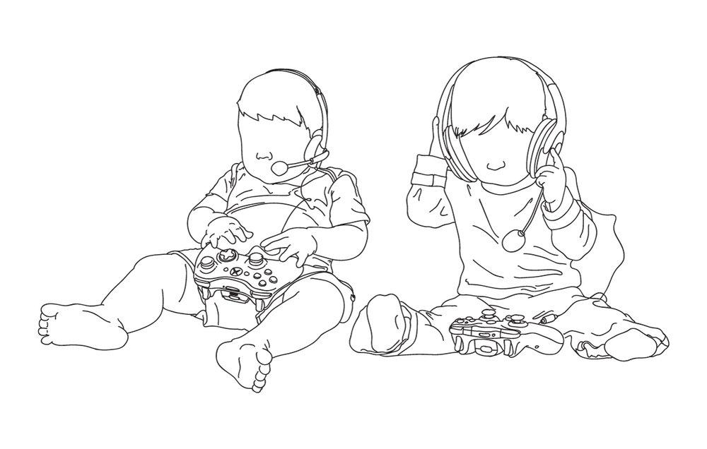 Console kids (C) Venatus